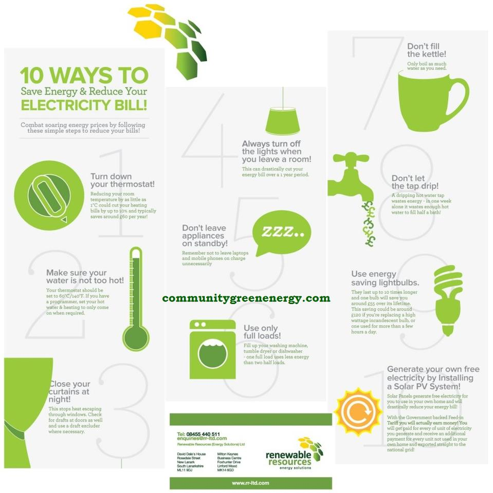 10 ways o save electricity bills
