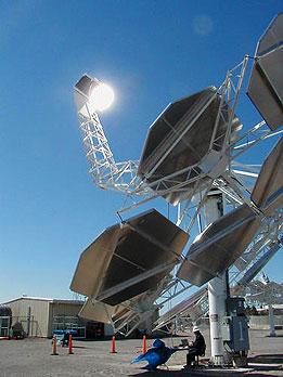 Concentrarea energiei solare