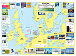 European offshore wind map 2011