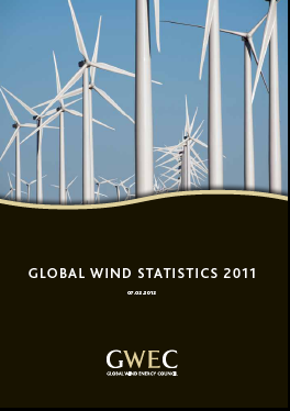 Global Wind Energy Council Statistisc 2012 published in 11.02.2013