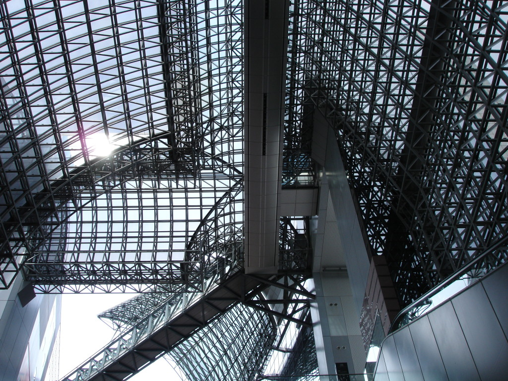 Kyoto_Station_interior_roof_architecture