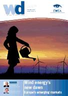 Total installed Wind Capacity for HungaryPolandRomaniaTurkey