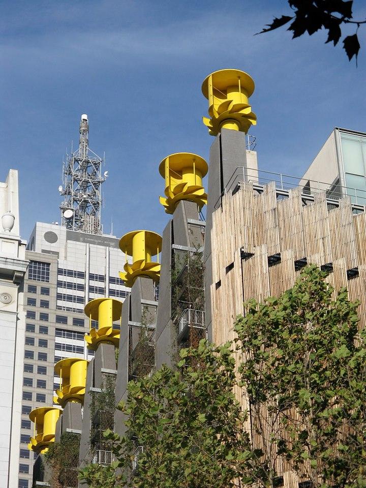 Vertical city turbine