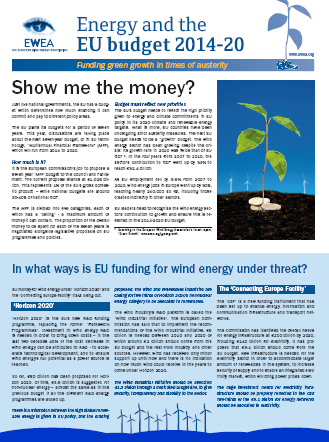 energy and the eu budget 2014 2020