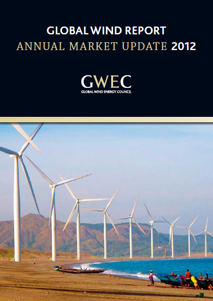 global wind power annual market update 2012