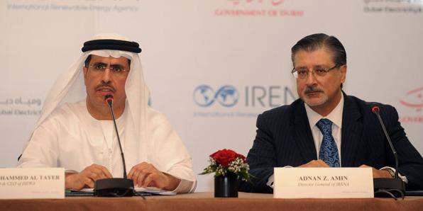 irena and dewa sign memorandum to accelerate dubais renewable energy uptake