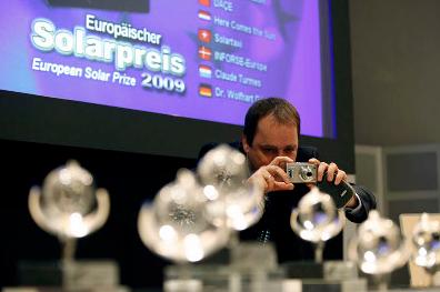 Enter the 2012 European Solar Prize
