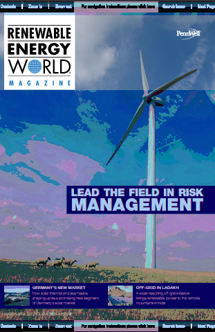 Renewable Energy World March   April 2013