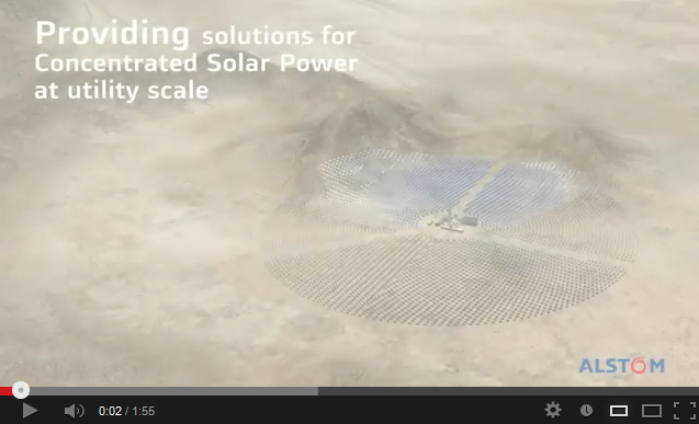 Concentrated solar power solutions at utility scale