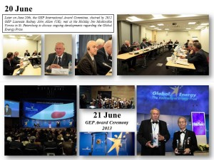 GLOBAL ENERGY PRIZE AWARD CEREMONY & LAUREATES WEEK