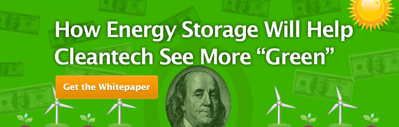 How energy storage will help cleantech see more green