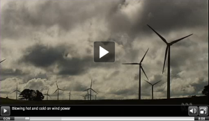 Blowing hot and cold on wind power