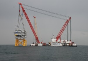 First floating offshore wind substation underway
