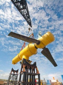 The tidal turbine 03