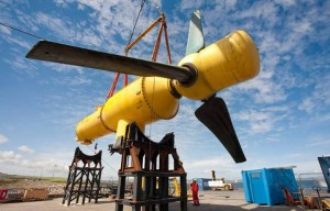 The tidal turbine 04
