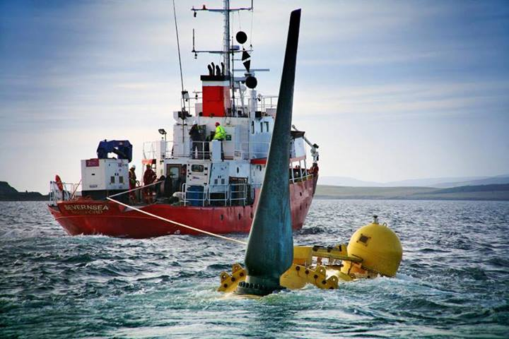 The-tidal-turbine