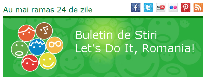 Buletin de stiri Let's do it