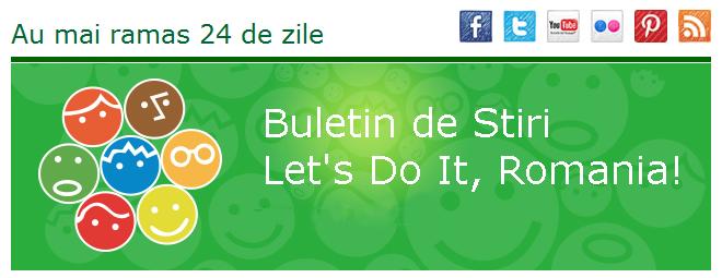 Buletin de stiri Let's do it
