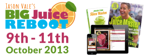 Sign up for the big Juice Reboot 9th - 11th October 2013