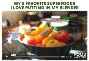 My 5 favorite super foods