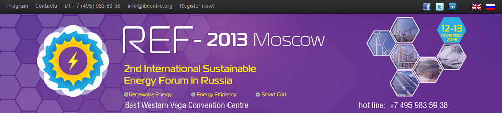 REF 2013 Moscova
