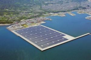 Cea mai mare instalatie fotovoltaica offshore din Japonia are o capaciate de 70 MW