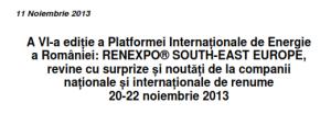 RENEXPO 2013