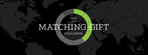 Matching gift clallange