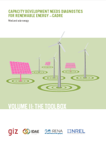 Capacity development needs diagnostics for renewable energy - Cadre Vol 2, Wind and Solar