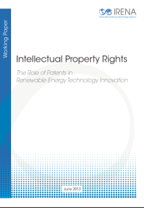 Intellectual Property Rights - The role of Patents in Renewable Energy Technology Innovation