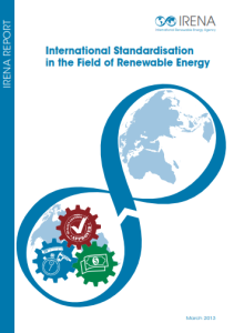 International Standardisation in the Field of Renewable Energy