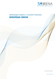 Renewable Energy country profiles - European Union 06.2013