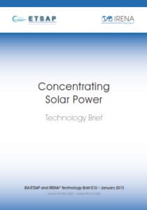 Technology brief - Concentrating Solar Power, 01.2013