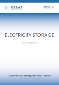 Technology brief - Electricity Storage 04.2012
