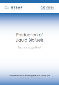 Technology brief - Production of Liquid biofuels, 01.2013