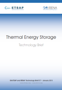 Technology brief - Thermal Energy Storage 01.2013