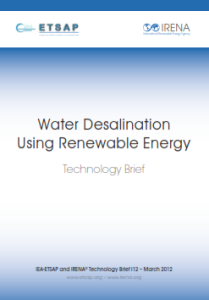 Technology brief - Water desalination Using Renewable Energy, 03.2012