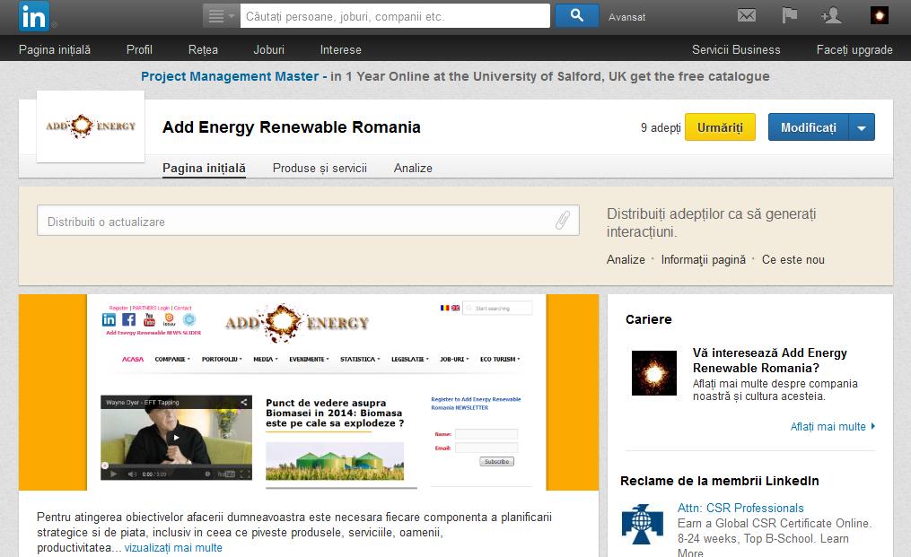 Linkedin.com Companie