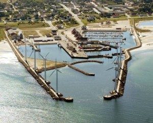 Wind Turbines can Finance Harbour Expansion 01