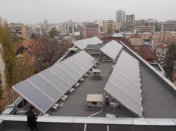 Solar panels for heating the solution of the future