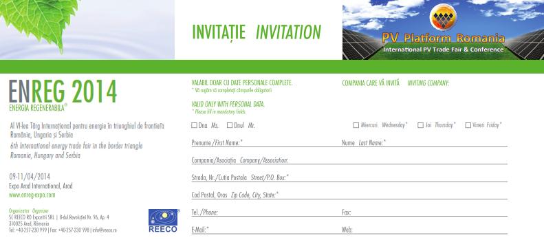 Invitatie ENREG 2014 Arad