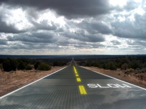 SolarstraÃen / Solar Roadway