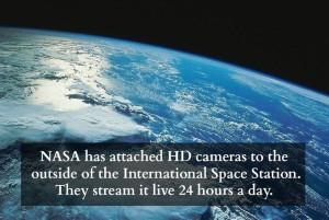 NASA HD cameras
