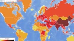 Harta poluarii aerului Care e situatia in Romania