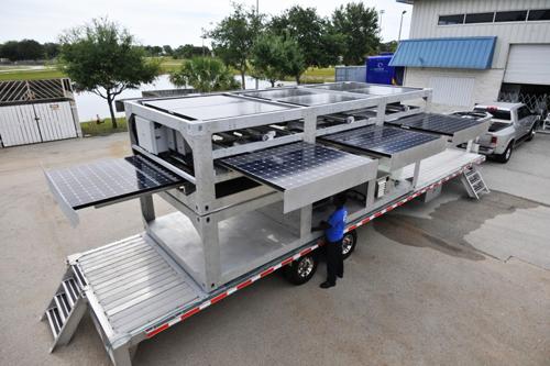container de transport solar