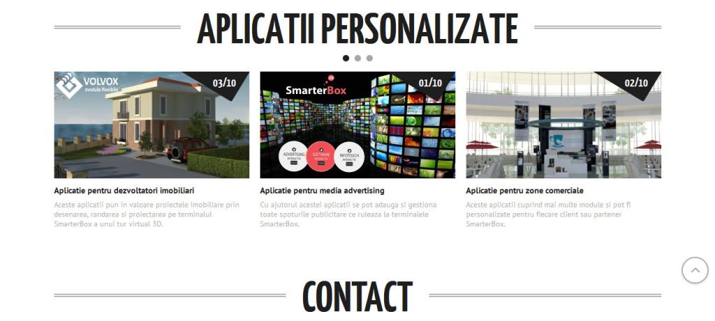 Smarter box Aplicatii personalizate