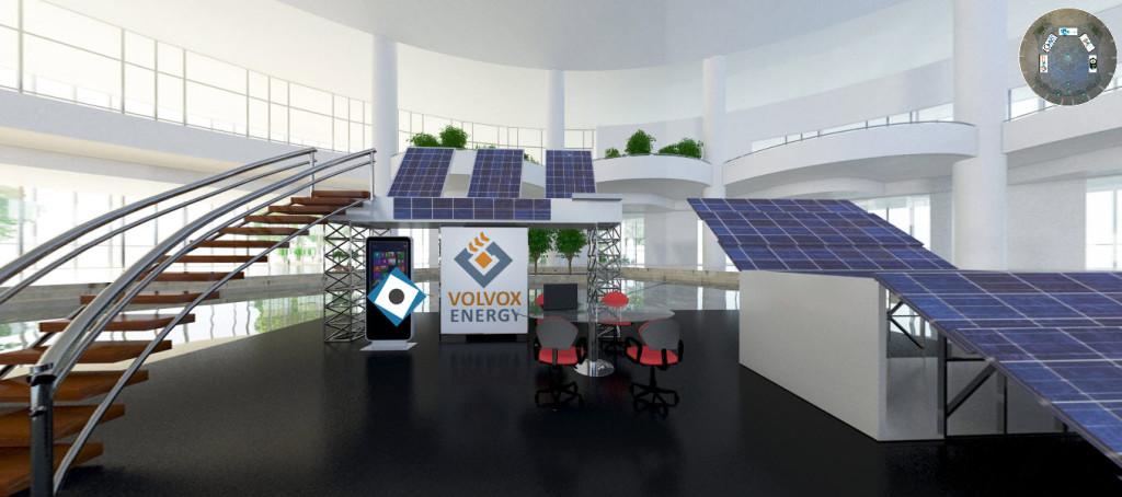 Volvox Energy stand