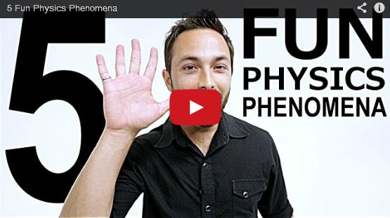 Puteti rezolva aceste 5 fenomene fizice