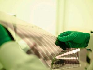 panou solar fotovoltaic organic