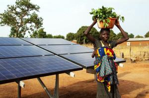 energie solara tari sarace